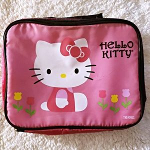 NWOT HELLO KITTY LUNCH BOX PINK